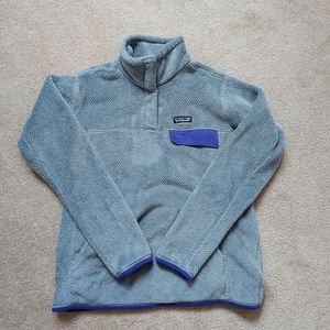 Patagonia Gray Snap Synchilla Fleece